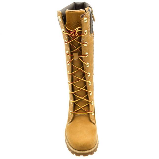 Youth Wheat Asphalt Trail Tall Boots (12-2)