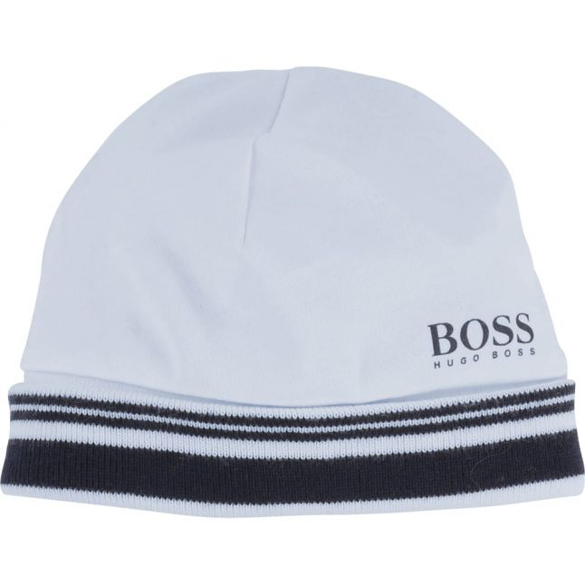 Baby Pale Blue Branded Soft Hat