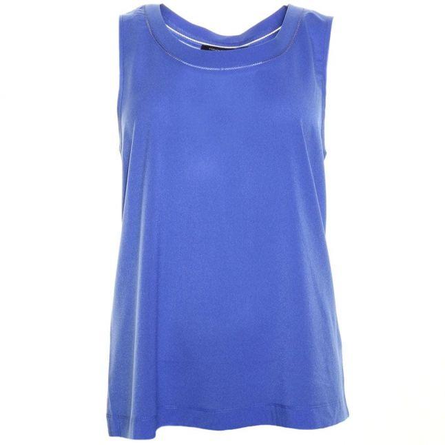 Womens Empire Blue Polly Plains Classic Vest