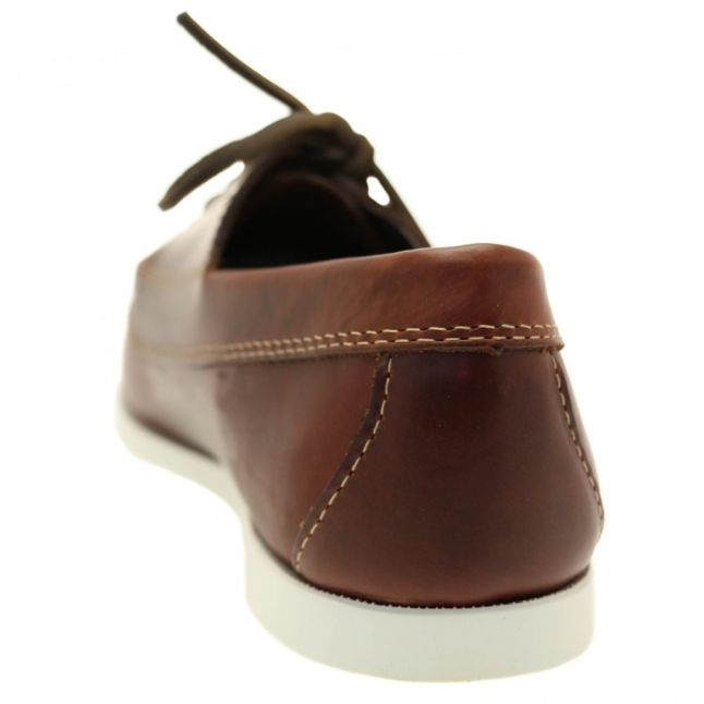 Mens Dark Brown Camp Moc Jackman Shoes