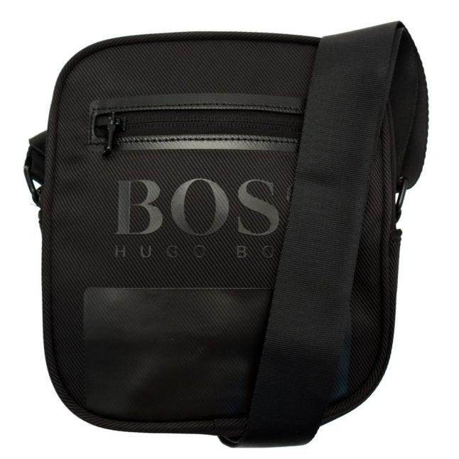 Boys Black Branded Bag