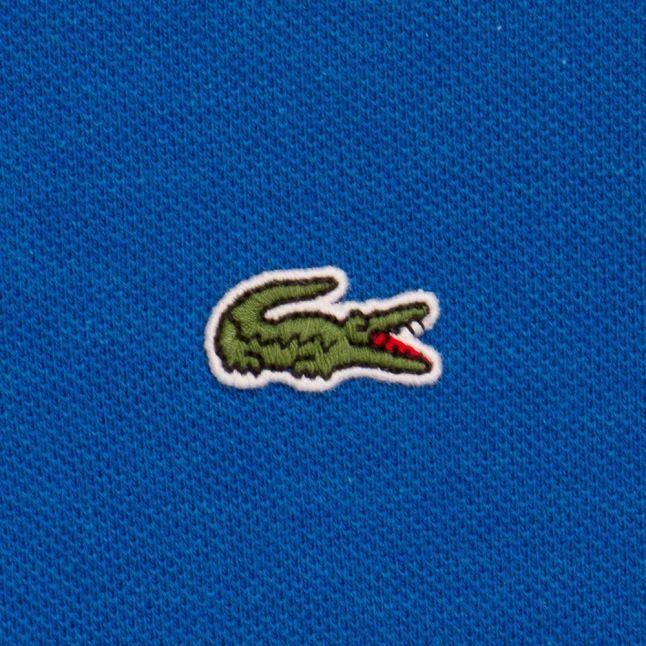 Boys Hre Blue Branded S/s Polo Shirt