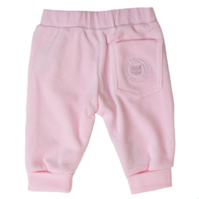 Baby Pink Kitten Bow Jog Pants