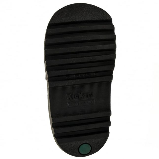 Infant Black Leather Kick Brogman (5-12)