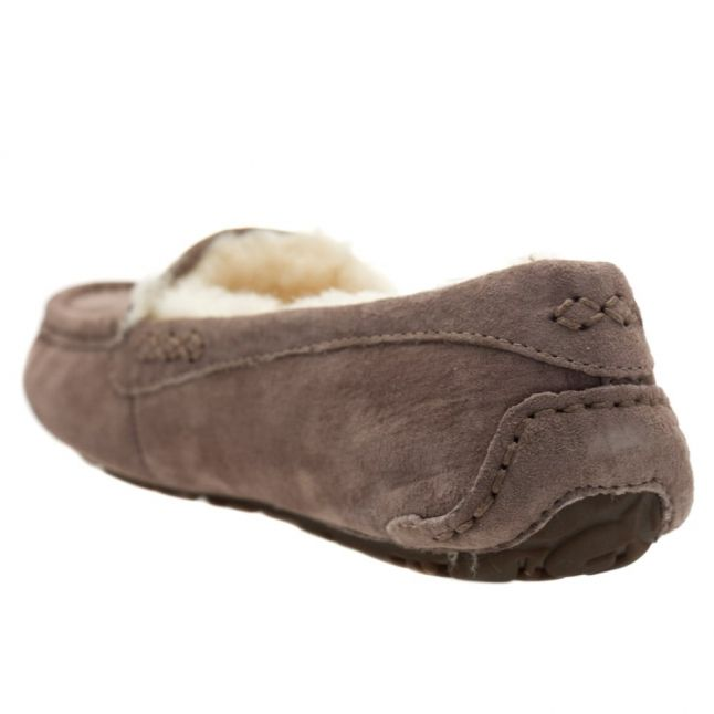 Womens Stormy Grey Ansley Slippers