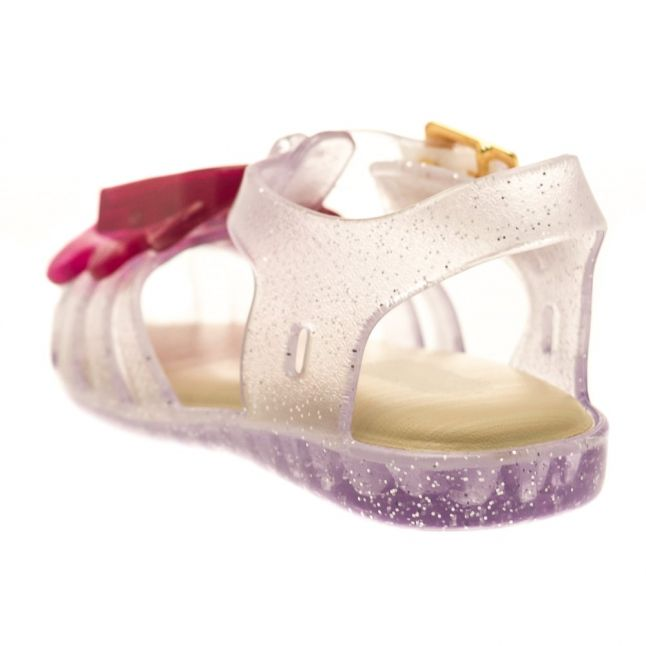 Girls Clear Glitter Aranha Lollypop 17 (4-9)