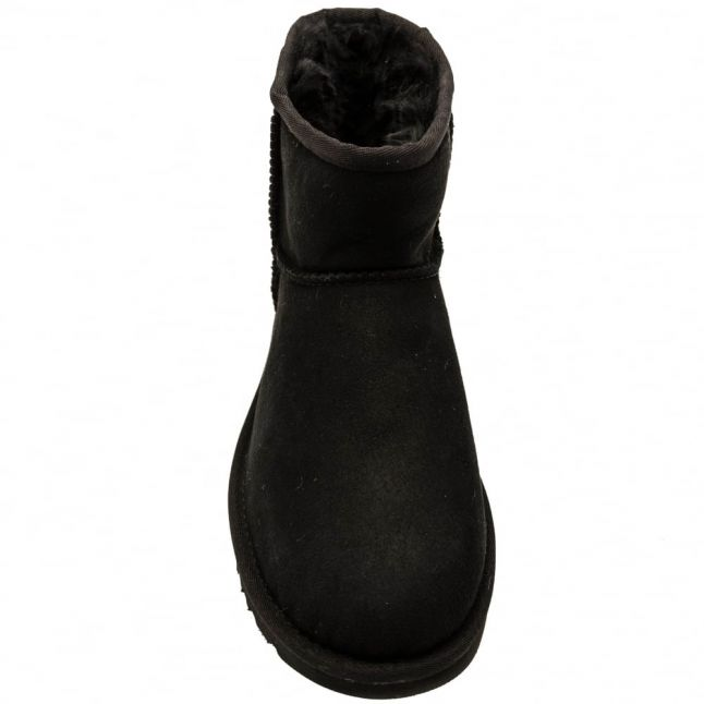 Womens Black Classic Mini II Boots