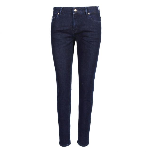 Womens Light Blue Branded Skinny Fit Jeans