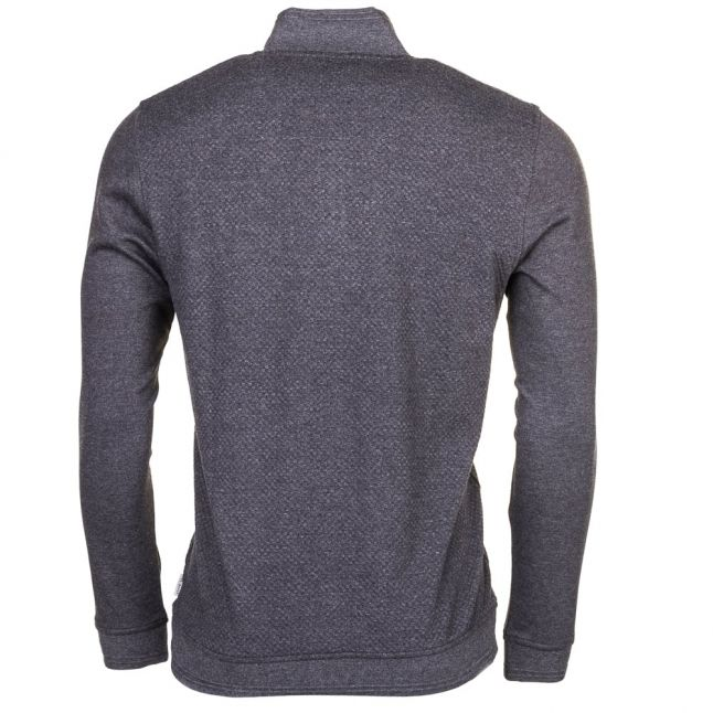 Mens Charcoal Draco Funnel Neck Sweat Top
