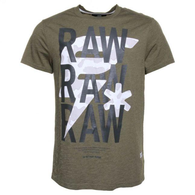 Mens Sage Ozep Crew S/s Tee Shirt