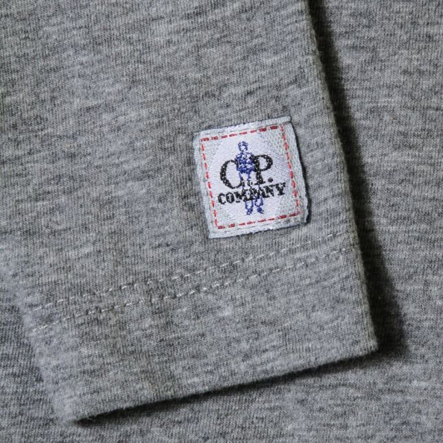 Boys Grey Printed Portal L/s Tee Shirt
