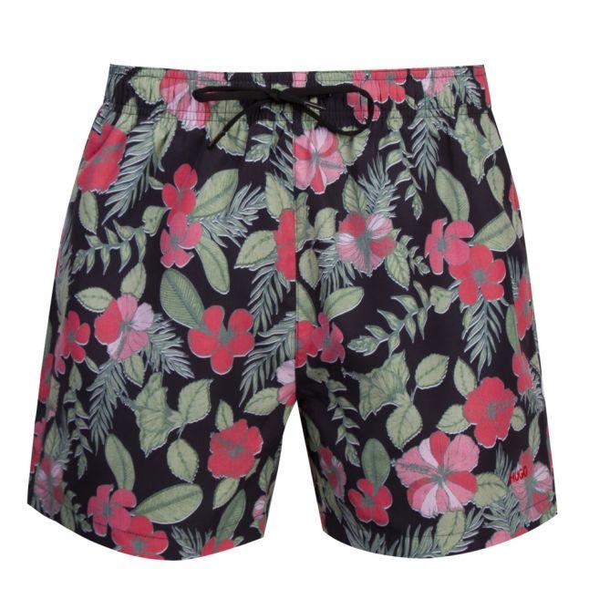 Mens Black Hawaii Swim Shorts