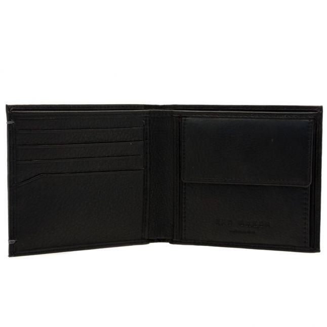 Mens Black Harvys Bifold Coin Wallet
