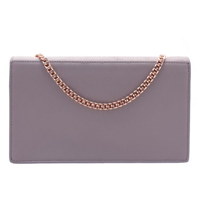 Womens Mid Purple Anneta Suede Cross Body Bag