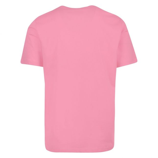 Mens Powder Pink Classic Zebra Regular Fit S/s T Shirt