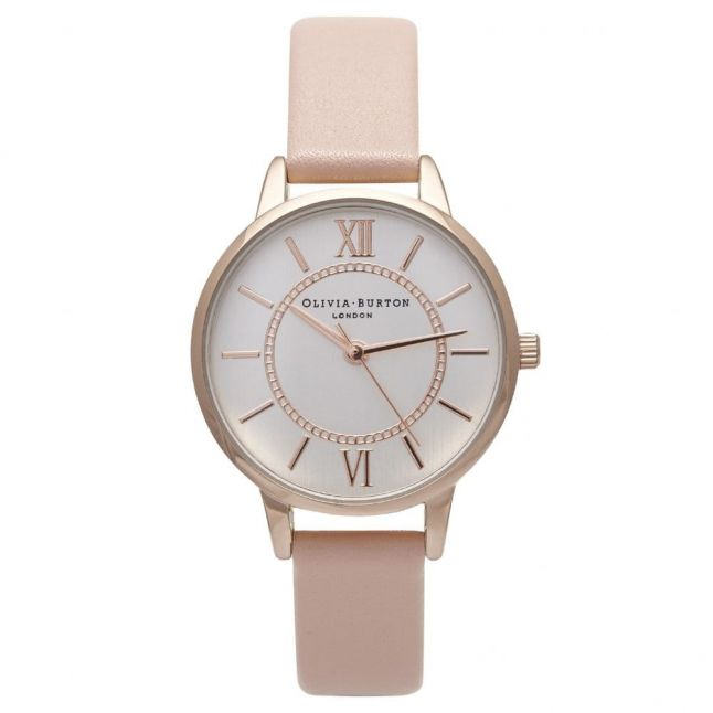Womens Mix Rose, Silver & Dusty Pink Wonderland Watch
