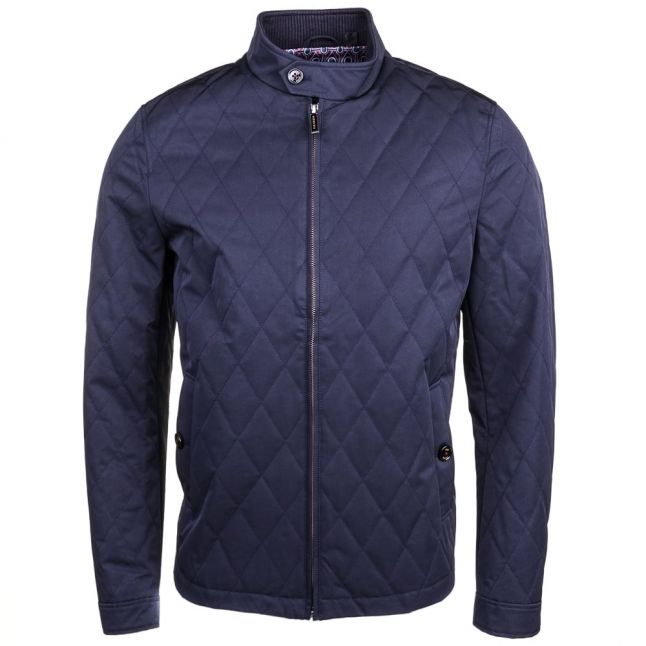 Mens Navy Noah Quilted Jacket