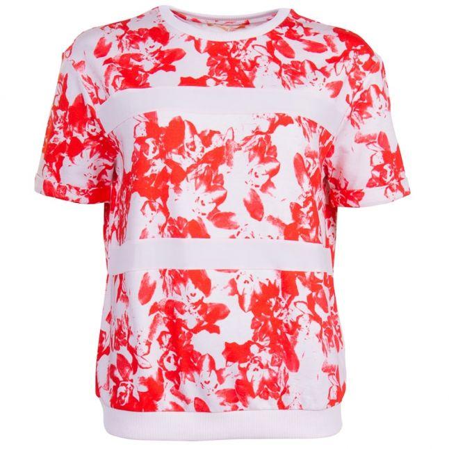 Boss Orange Womens Red Tabloom Tee Shirt