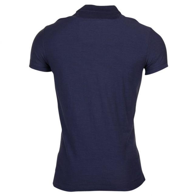 Mens Navy T-Chayn S/s Polo Shirt