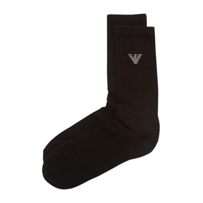 Mens Black 2 Pack Socks