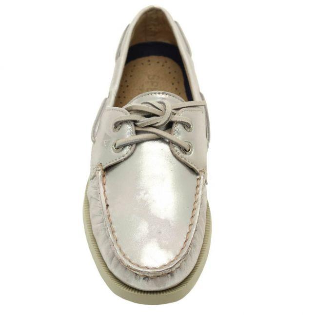 SperryWomensSilverTop-SiderAuthenticOriginal2-EyeBoatShoes