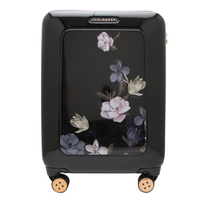 Womens Opal Black Small Hard Suitcase