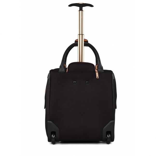 Womens Black Albany Soft Suitcase