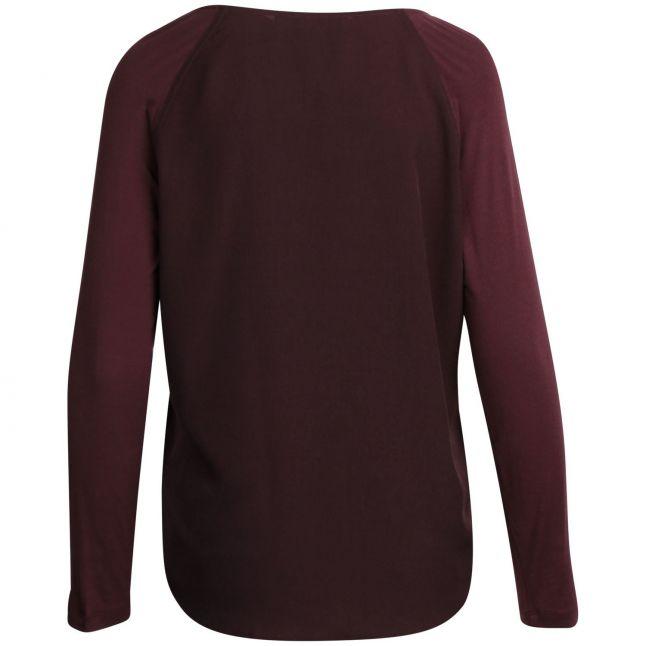 Womens Decedance Crepe Light L/s T Shirt
