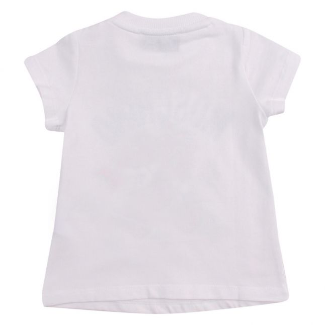 Baby White Toy Butterfly S/s T Shirt