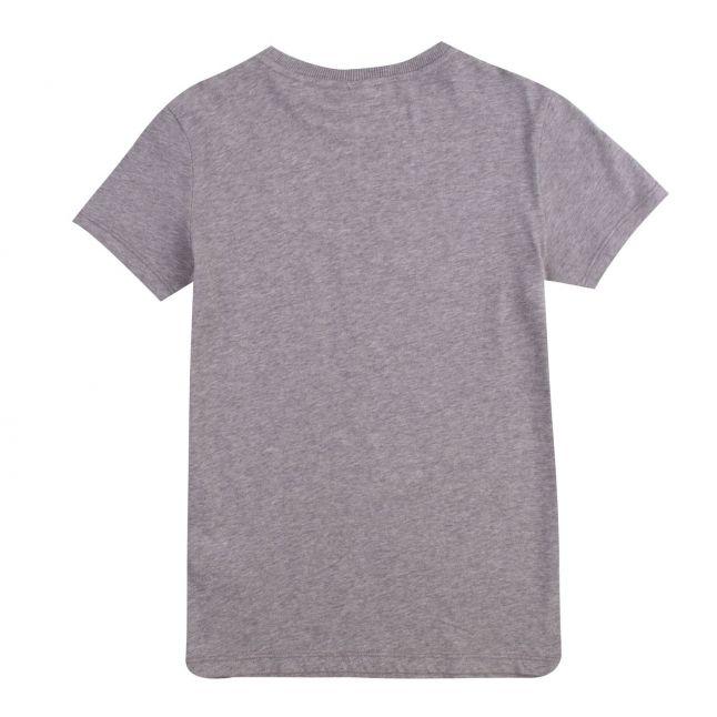 Kids Medium Grey Melange Saloy S/s T Shirt