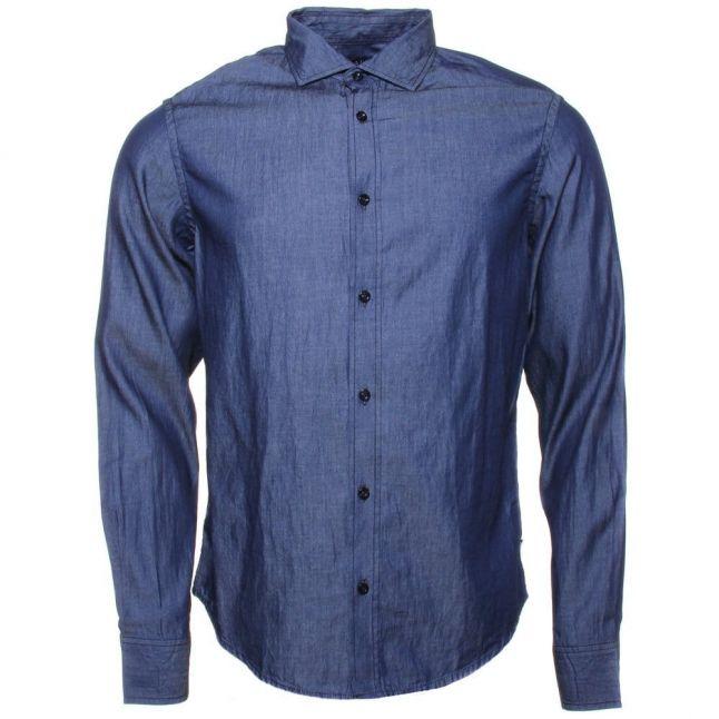 Mens Denim L/s Shirt