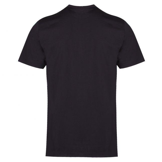 Mens Black Basic Regular Fit S/s T Shirt