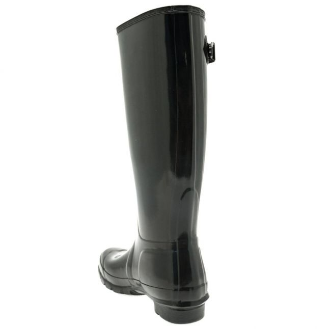 Womens Black Original Gloss Tall Wellington Boots