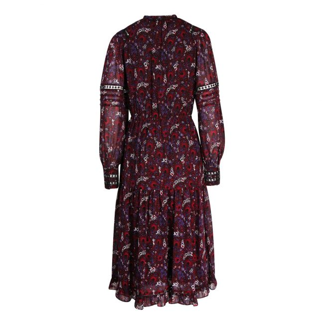Womens Azalea Zinnia Paisley Midi Dress