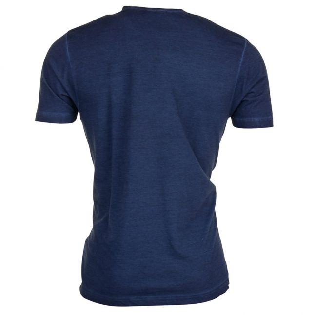 Mens Navy Big Logo S/s Tee Shirt