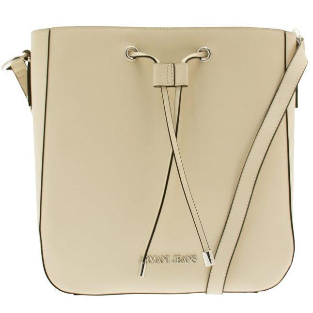 Womens Sand Yellow Bucket Bag
