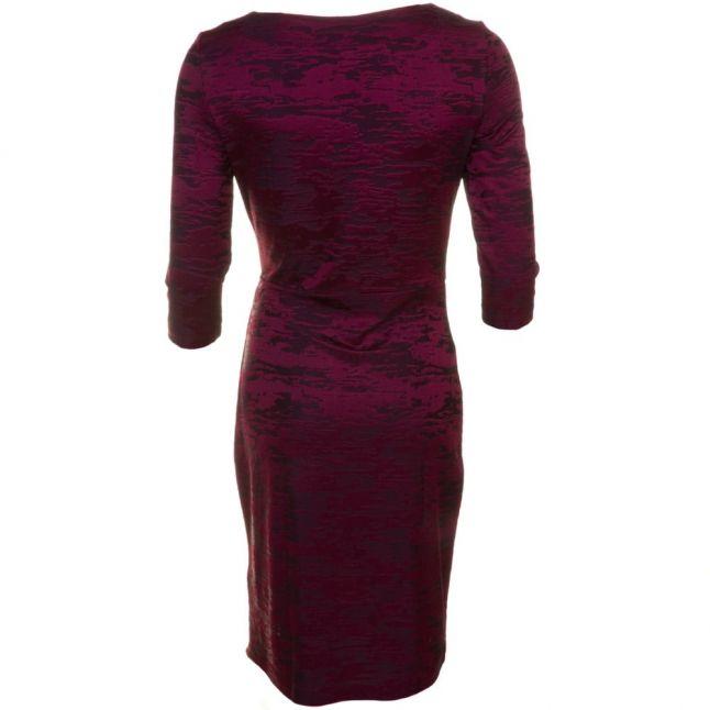 Womens Zinfandel Stable Jacquard Wrap Dress