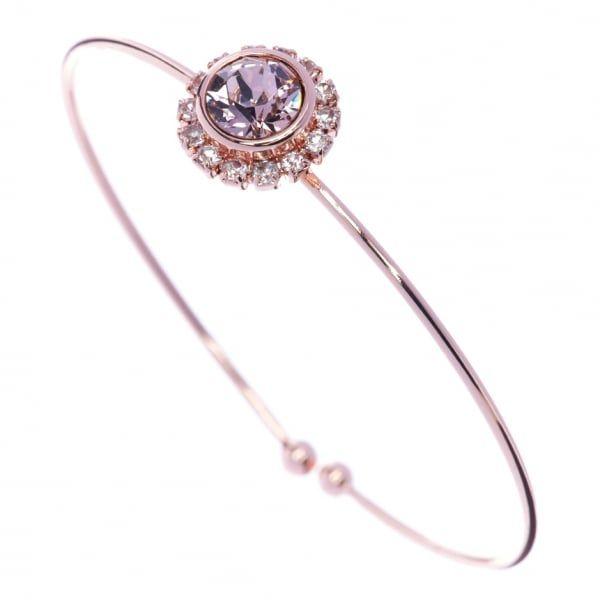 Womens Rose Gold & Vintage Sappelle Fine Cuff Bracelet