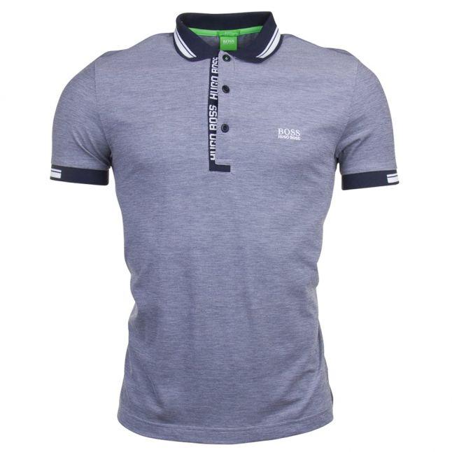 Mens Navy Paule 4 S/s Polo Shirt