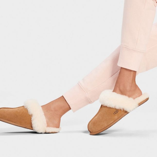 Scuffette II Chestnut Womens Slippers