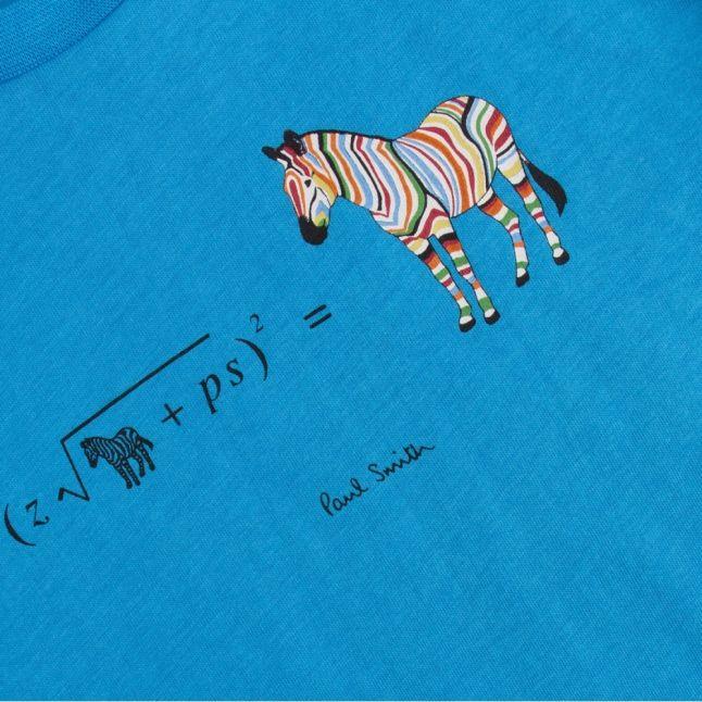 Boys Blue Danube Aban Zebra S/s T Shirt