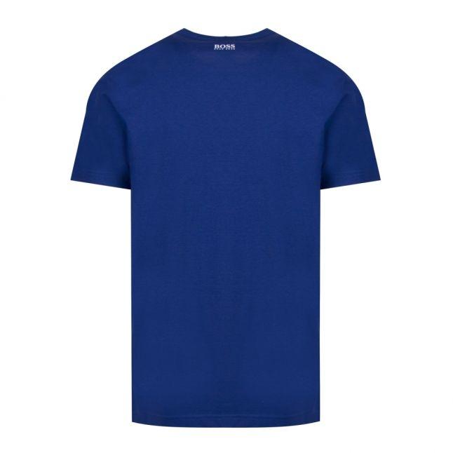 Athleisure Mens Blue Tee 7 S/s T Shirt