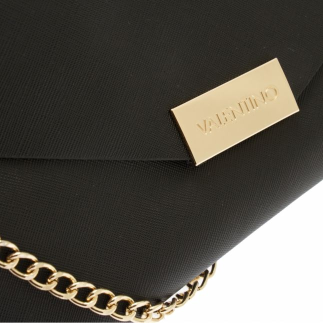 Womens Black Arpie Envelope Clutch