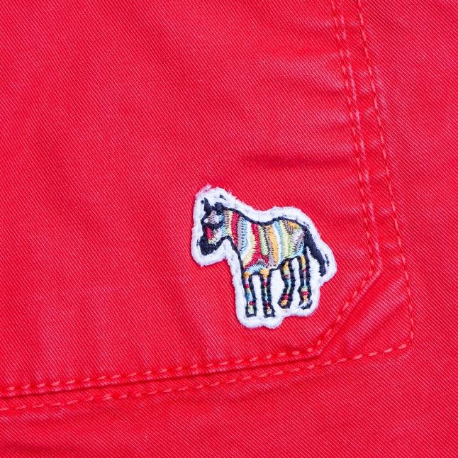 Paul Smith Boys Red Junior Norbert Shorts