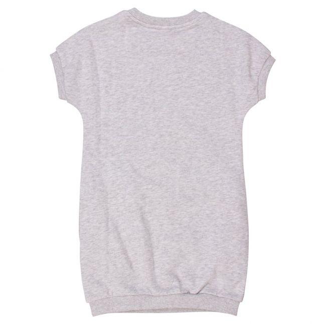 Girls Light Marl Grey Tiger 23 Dress