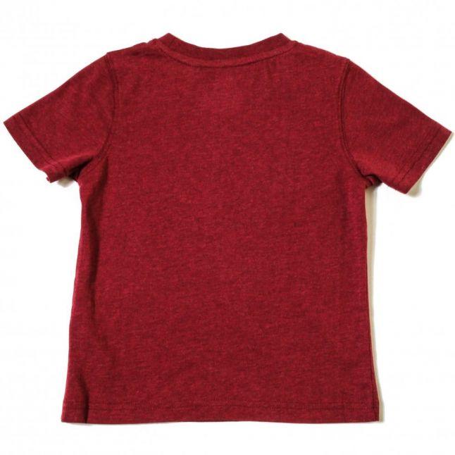 Boys Red Logo S/s Tee Shirt