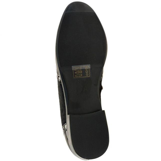Womens Black Eastern Loafers