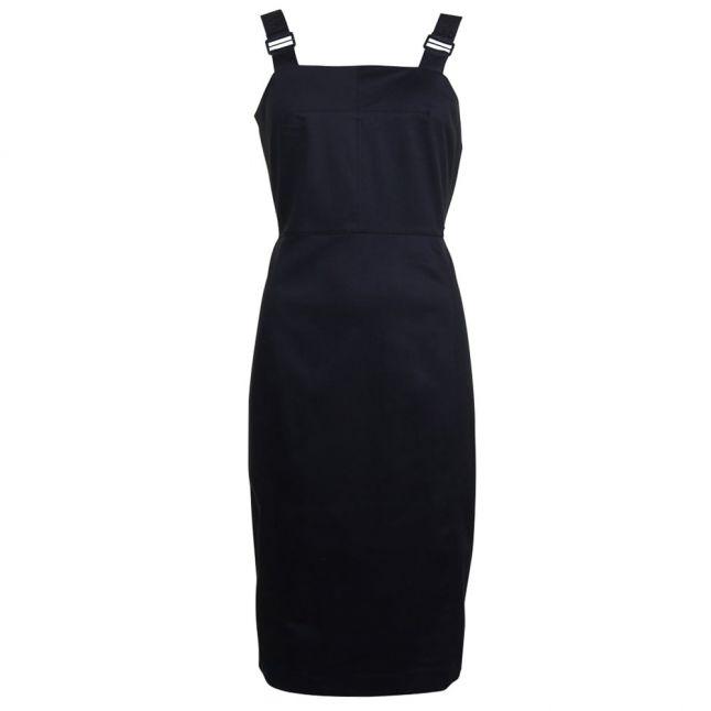 Womens Black Delta Woven Dress