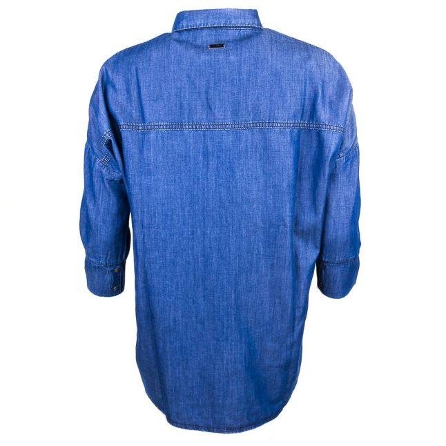 Womens Chambray Hopnel L/s Shirt