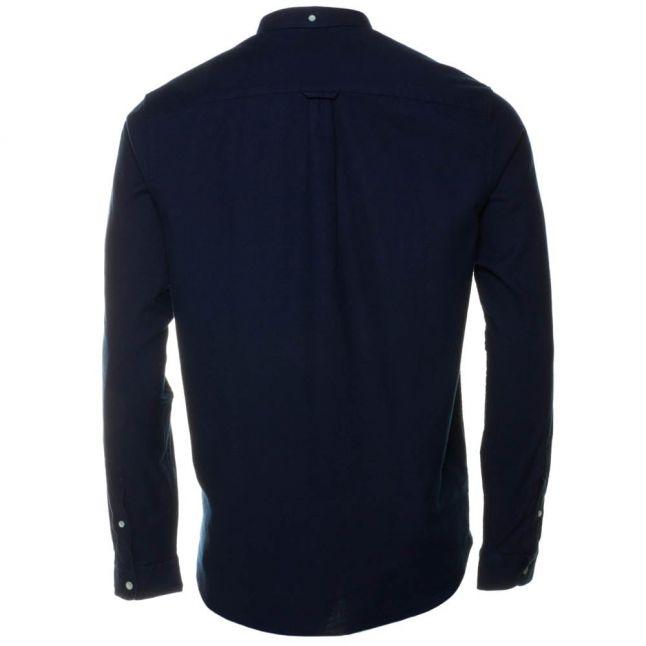 Mens Dark Indigo L/s Oxford Shirt